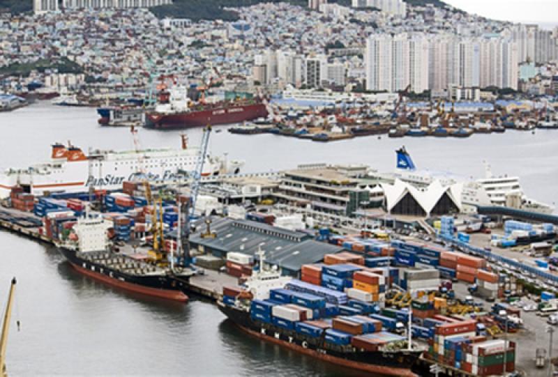 Südkorea-Transport-Seefracht