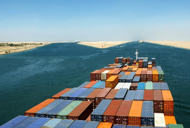 Ägypten-Seefracht-Transport