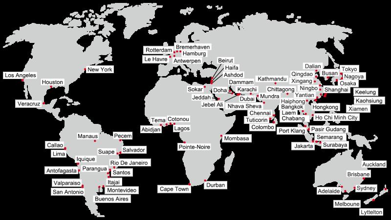 TSM-Weltkarte-Häfen