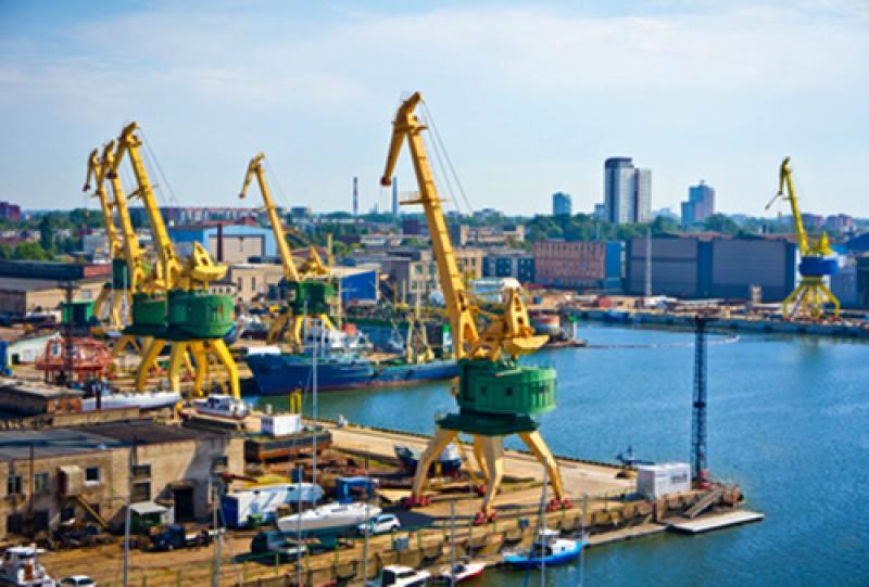 Litauen-Transport-Seefracht
