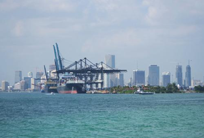 USA-Seefracht-Transport