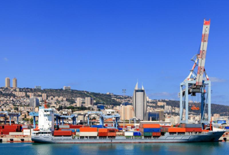 Israel-Transport-Seefracht