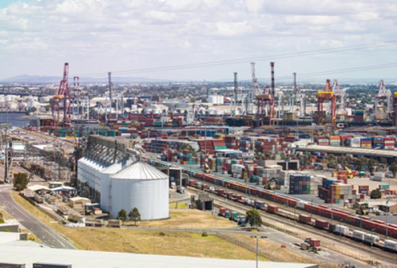 Australien-Transport-Seefracht