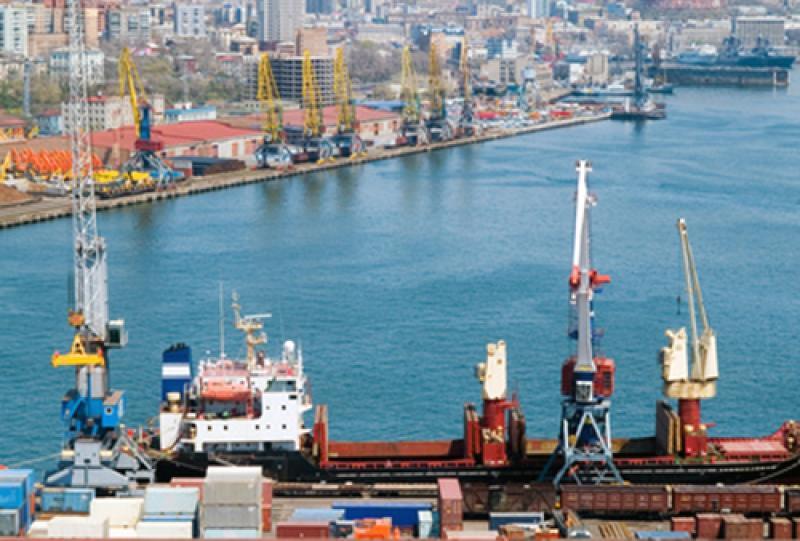 Russland-Seefracht-Transport