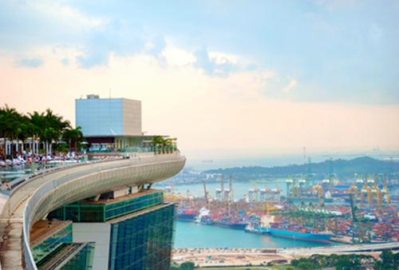 Singapur-Transport-Seefracht